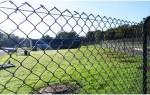 Как правильно установить забор из сетки рабица