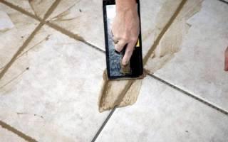 Как быстро затереть швы на плитке