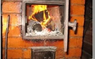 Как делать печи из кирпича для дома