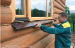 Как крепится отлив к пластиковому окну снаружи