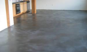 Чем пропитать бетонный пол от пыли