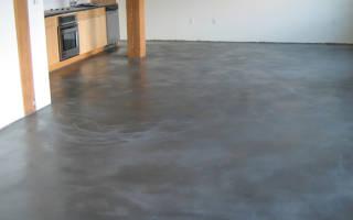 Обработка бетонного пола от пыли