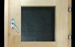 Окна для парной со стеклопакетом