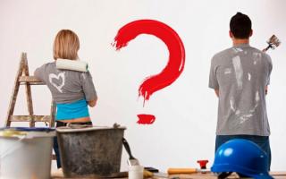 Что сперва делать пол или стены