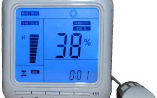 Регулировка влажности в теплице
