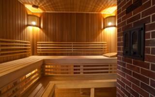 Расценки на отделку бани внутри