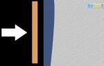 Укладка плитки на неровную стену без выравнивания