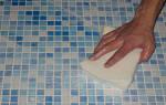Чем смыть затирку с керамической плитки