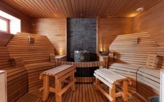 Раздевалка в бане дизайн