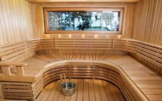Как украсить баню внутри