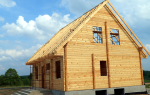 Сколько кубометров леса нужно для строительства дома