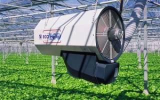 Климатические установки для теплиц