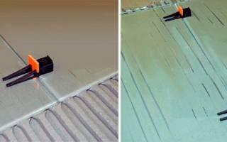 Система точного выравнивания плитки