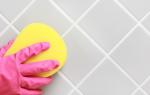 Как почистить швы между плиткой на полу